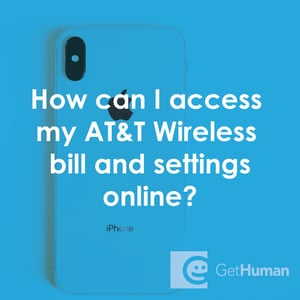 How Can I Access My At T Wireless Bill And Settings Online