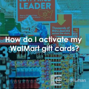 walmart gift card activation